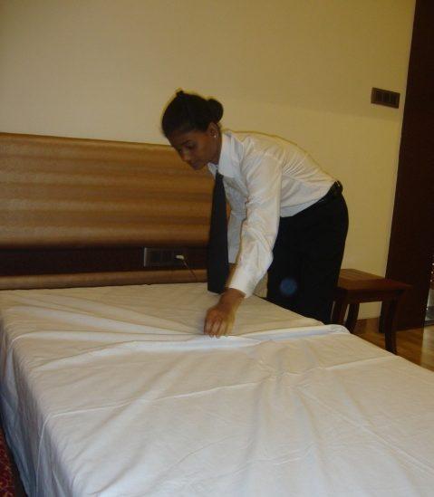 f&b service housekeeping